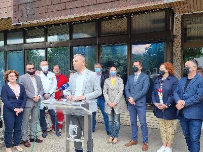 Vijećnici Gradskog vijeća Bihać posjetili Dom zdravlja Bihać