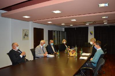 Gradsku upravu posjetila delegacija Akademije nauka i umjetnosti BiH