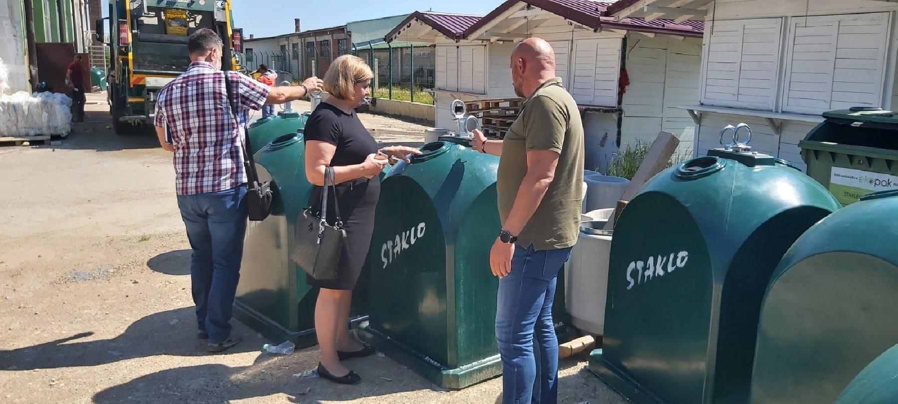 Grad Bihać će biti vodeći u prikupljanju staklene ambalaže