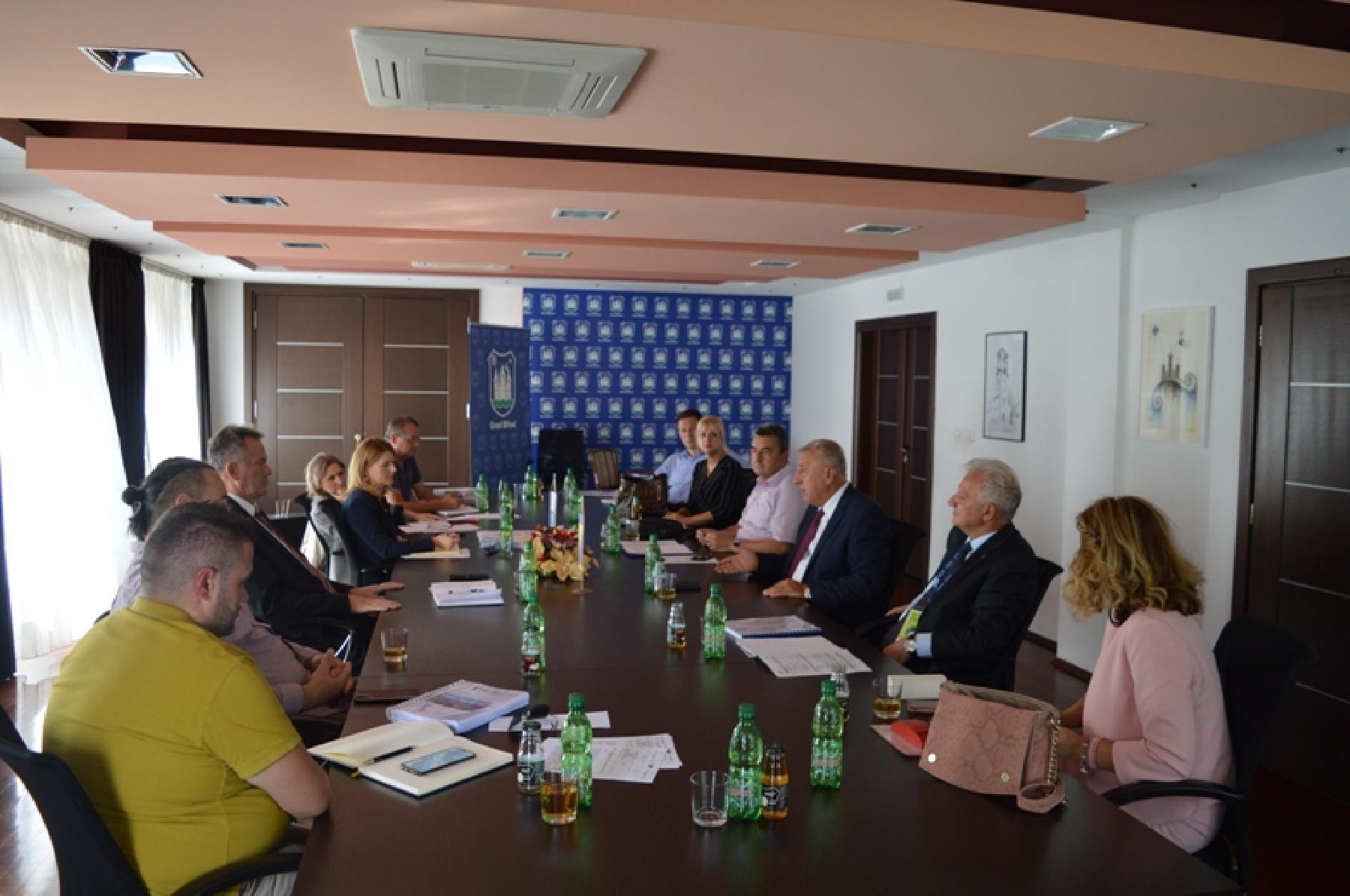Održan sastanak između predstavnika Agencije za vodni sliv rijeke Save i predstavnika Gradske uprave