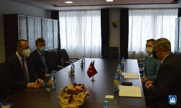 Posjeta generalnog konzula Republike Turske u BiH sa sjedištem u Banja Luci