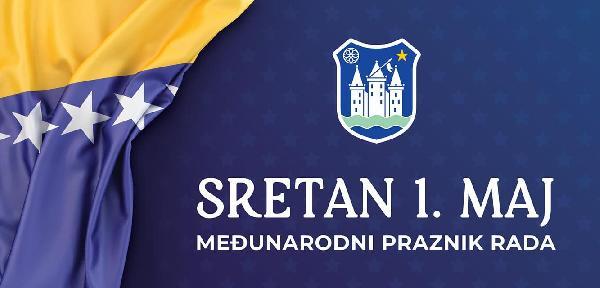 Čestitka gradonačelnika i predsjedavajućeg GV Bihać povodom 1. maja - Međunarodnog dana rada