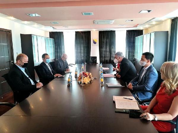 Posjeta ambasadora Islamske republike Iran u BiH Gradu Bihaću