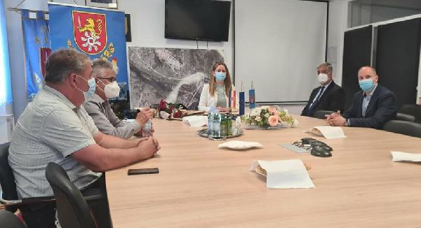 Bihaćki gradonačelnik posjetio Grad Slunj