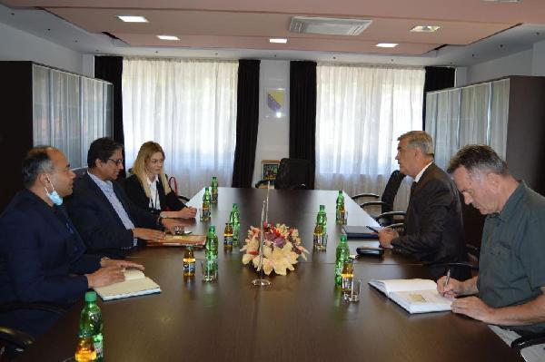 Posjeta ambasadora Bangladeša Gradu Bihaću
