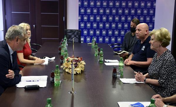 Džilijan Triggs, pomoćnica  Glavnog  tajnika UN-a i pomoćnica  za međunarodnu zaštitu  Visokog povjerenika UN-a za izbjeglice ( UNHCR) posjetila Grad Bihać
