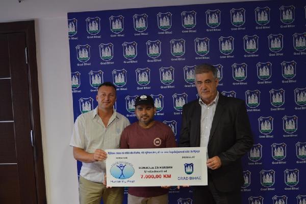 Donacija organizacije Humanity First građanima grada Bihaća povodom Kurban Bajrama