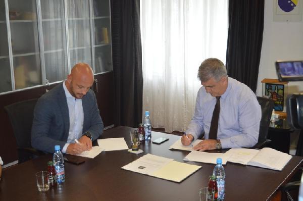 """Potpisan sporazum između grada Bihaća i predstavnika projekta """"Ritam Evrope"""