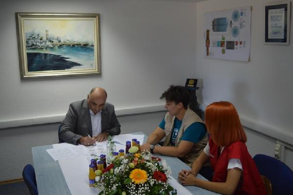"""Donacija Caritasa regije Emila Romagne putem IPSIE BiH Javnom Preduzeću """"Vodovod"""" Bihać"""
