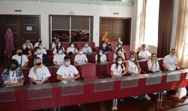 """U Gradskoj Vijećnici upriličen prijem učesnika Internacionalne konferencije """"From Migration to Integration""""."""