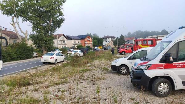 Akcija izmještanja migrantske populacije sa lokacije ZZ Alija Alijagić