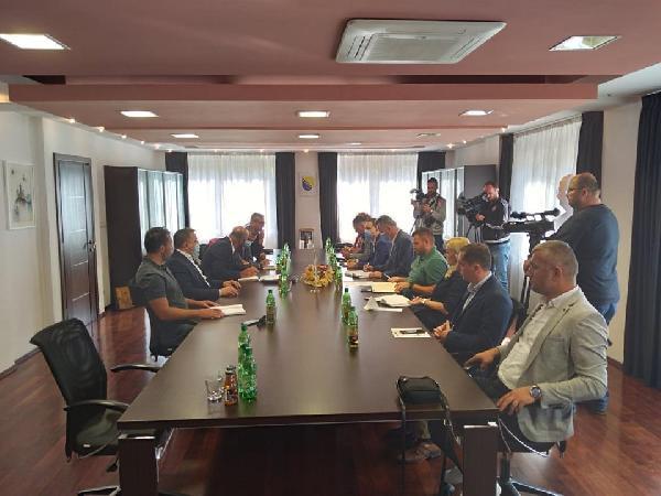 Sastanak predstavnika Grada Bihaća i JP Ceste Federacije BiH
