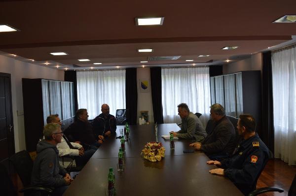 Grad Bihać posjetili predstavnici prijateljskog grada Hamma